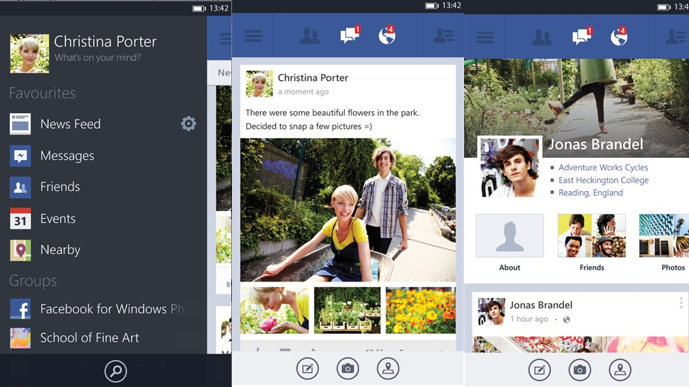 Facebook-Windows-Phone-8-App